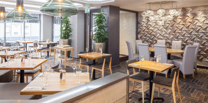 Gạch 3D xi măng trang trí nội thất cafe