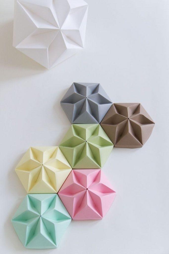 Gạch 3D nổi GFRC bê tông sợi thủy tinh nhiều màu sắc