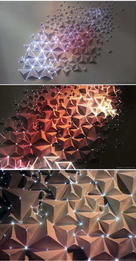 thiết kế gạch 3d ốp tường trang trí - VLXD Milli