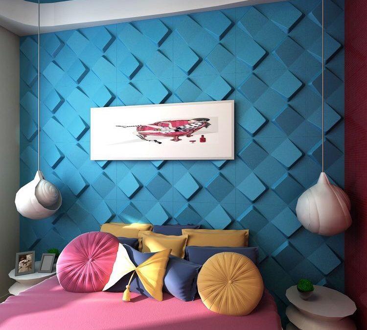 Gạch 3D bê tông trang trí – Nâng tầm kiến trúc