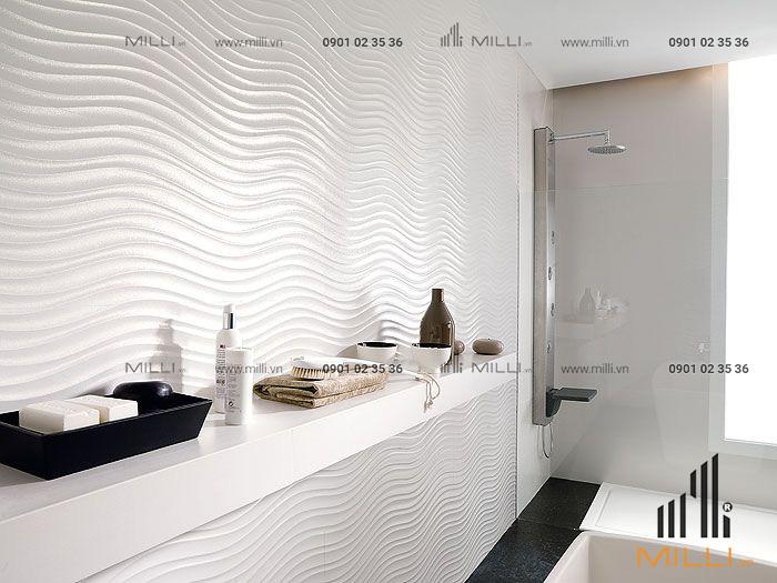 Gạch 3D bê tông xi măng ốp tường giá rẻ GFRC sợi thủy tinh cường độ cao