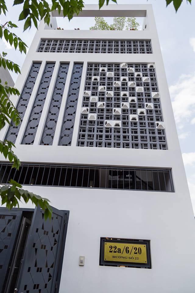 thiết kế ngôi nhà bằng gạch bông gió - vlxd Milli