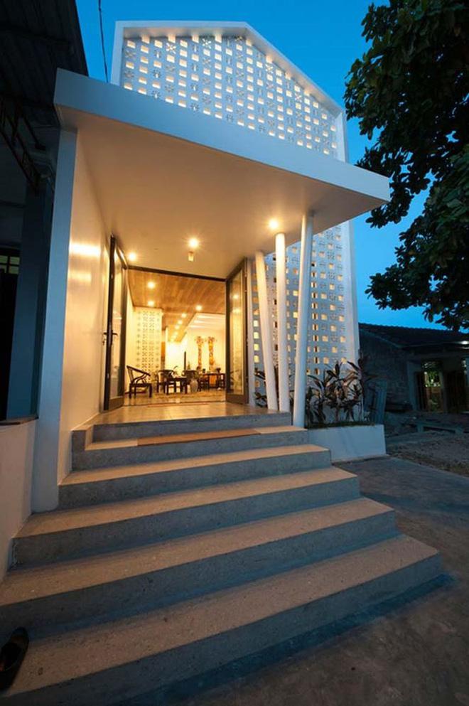 Nhà Cấp 4 Hóa Biệt Thự cùng thiết kế gạch bông gió chỉ 350 triệu - vlxd milli