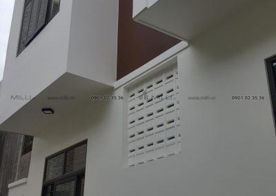 gach thông gió chan mua breeze tiles cement block airbricks Milli