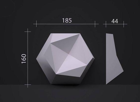 Kích Thước Gạch 3D Ốp Tường