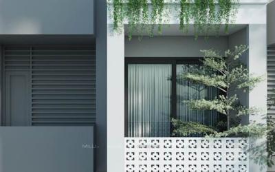 Kiến trúc mặt tiền gạch bông gió – Cũ mà mới