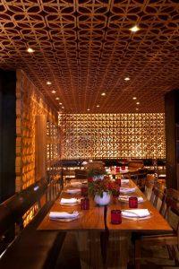nhà hàng gạch bông gió mexico thiết kế ấn tượng