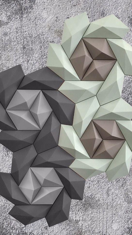 gạch 3d ốp tường trang trí nội ngoại thất - VLXD Milli