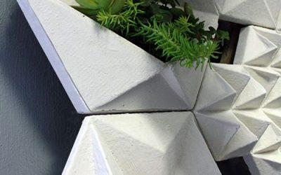 Ứng dụng gạch 3D ngoại thất hiện đại