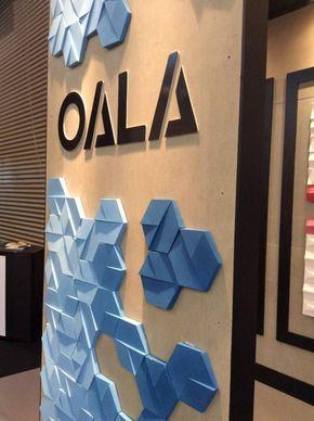gạch 3d ốp tường - Oala - VLXD Milli
